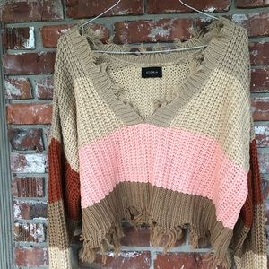 Storia cropped sweater size S